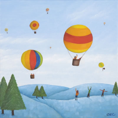 The Arctic Balloon Race