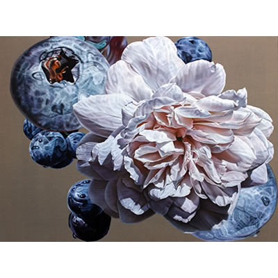 Grow me a garden of roses: 2013, Oil on Belgian Linen, 96 x 126cm