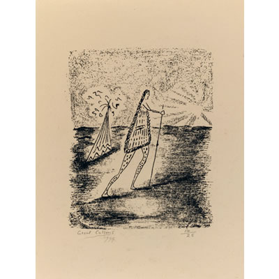 The Pilgrim 1944 - Roneo Print