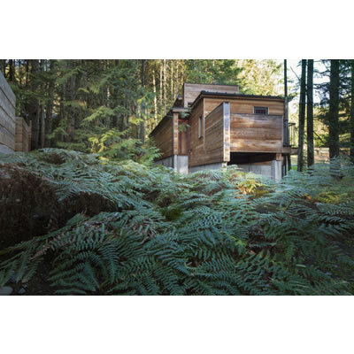 Rainforest Retreat (2014), Canada by Agathom Co. Photo C Steven Evans