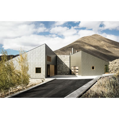 Sun Valley House (2013), USA, by Rick Joy Architects. Photo C Joe Fletcher Photography