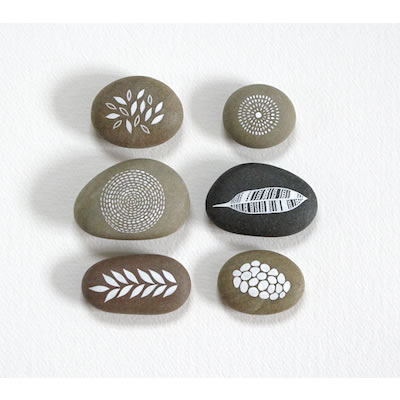 Ground and Sky 5: Painted Stone Collection