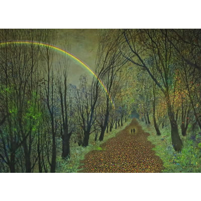 Richard Cartwright - Walking Beside a Rainbow