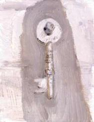 Key, painting by Isobel Brigham, courtesy: www.browseanddarby.co.uk