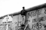 The fall of the Berlin Wall, November 1989 Photograph: Raymond Depardon/Magnum Photos