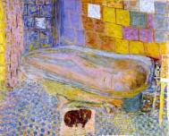 Nude in Bathtub, painting by Pierre Bonnard. Courtesy: Carnegie Museum of Art Pittsburgh