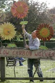 Residents in Wolvercote, Oxfordshire begin to address their carbon footprint. Photograph: Sam Frost