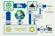 A flow chart showing carbon sequestration using biocharcoal Courtesy: www.eprida.com