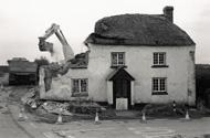 Demolition of a thatched cottage Photograph: James Ravilious/Beaford Archive/Corbis