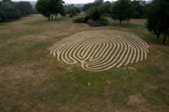 Finger Maze 2006, by Chris Drury