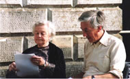 Kathleen Raine with dear friend John Lane. Photograph: Resurgence Archive