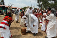 Cultural Dancing at the Suba Forest Day Celebration Photograph: Million Belay