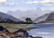 Head of Loch Brrom by Jill Paine