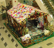 The Gingerbread House in a shopping centre in Thailand. Photograph: Courtesy Alison Murray