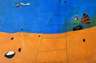 Landscape by Joan Miró. Photo: Peter Schubli, Basal. © Successió Miró/ADAGP and DACS