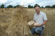 John Letts with his real bread