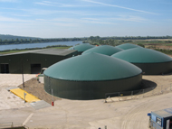 Anaerobic digestion facility, Cassington, Oxford