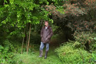Martin Crawford at Agroforestry Research Trust © APEX