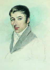 Robert Owen by Mary Ann Knight © New Lanark Trust www.newlanark.org