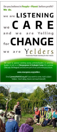 The Resurgence summer camp inspired the creation of the Yelders
