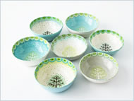 Small Tree bowls by Katrin Moye