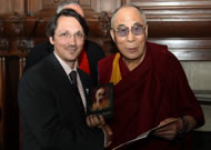 Leon Stuparich and Dalai Lama