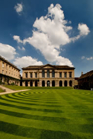 The main quad, Worcester College, Oxford