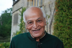 Satish Kumar, photo courtesy of Cowdray Estate