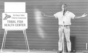 Billy Frank Jr courtesy Northwest Indian Fisheries Commission