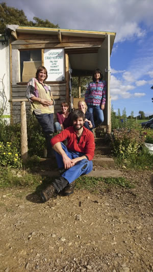 Photo of young farmers at Oakbrook Farm © The Biodynamic Land Trust