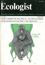 Cover of Ecologist issue 1981-01