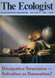 Cover of Ecologist issue 1981-09