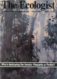 Cover of Ecologist issue 1982-01