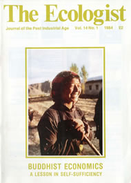 Cover of Ecologist issue 1984-01