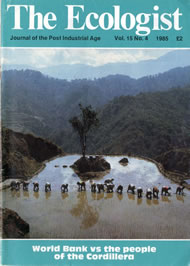 Cover of Ecologist issue 1985-05