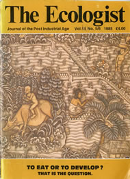 Cover of Ecologist issue 1985-06