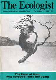 Cover of Ecologist issue 1986-01