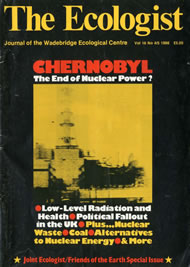 Cover of Ecologist issue 1986-04