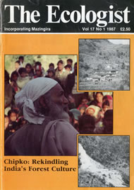 Cover of Ecologist issue 1987-01