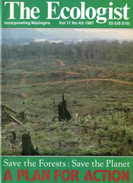 Cover of Ecologist issue 1987-07
