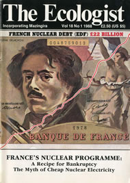 Cover of Ecologist issue 1988-01