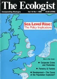 Cover of Ecologist issue 1989-01