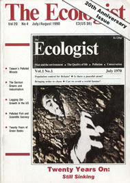 Cover of Ecologist issue 1990-07