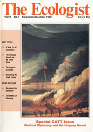 Cover of Ecologist issue 1990-11