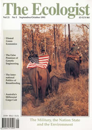 Cover of Ecologist issue 1991-09
