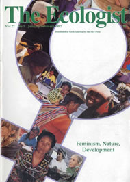 Cover of Ecologist issue 1992-01