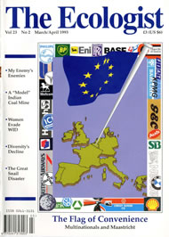 Cover of Ecologist issue 1993-03