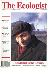 Cover of Ecologist issue 1994-01