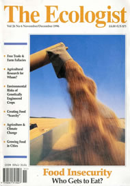 Cover of Ecologist issue 1996-11