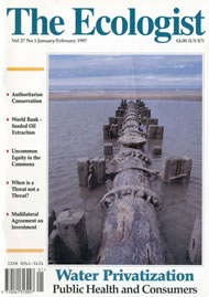 Cover of Ecologist issue 1997-01
